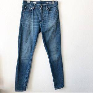 Gap 1969 True Skinny high rise jeans size 30 R